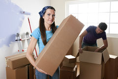 Moving Coupke Stock Images