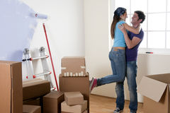 Moving Coupke Stock Photography