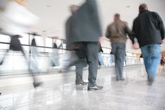 Moving crowd. royalty free stock image