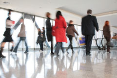 Moving Crowd. Royalty Free Stock Photos