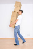 Moving day Royalty Free Stock Photography