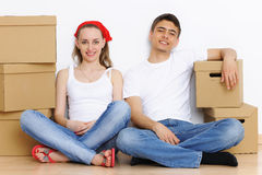 Moving day Royalty Free Stock Images