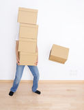 Moving day stock image