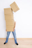 Moving day Royalty Free Stock Photo