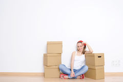 Moving day Stock Images