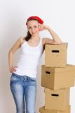 Moving day Royalty Free Stock Image