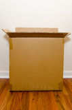 Moving Day Empty Box Royalty Free Stock Photos
