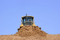 Moving Dirt Stock Photo