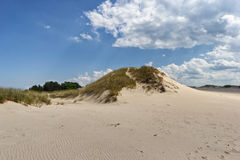 Moving dunes Stock Photo