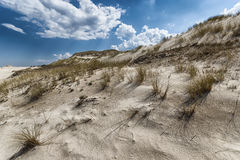Moving dunes Royalty Free Stock Photo