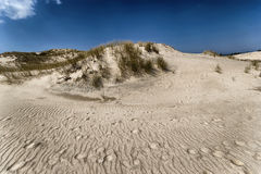 Moving dunes Royalty Free Stock Photography