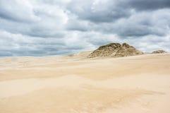 A moving dunes Stock Photos