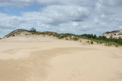 A moving dunes Royalty Free Stock Photos