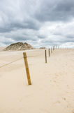 A moving dunes Stock Image