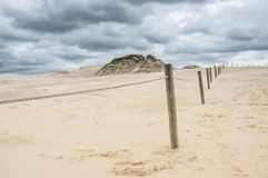 A moving dunes Stock Photography