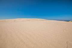 Moving dunes in the Slowinski National Park, Poland Stock Photos