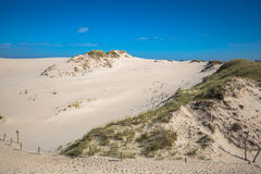 Moving dunes in the Slowinski National Park, Poland Stock Photo