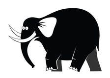 Moving elephant Stock Photography