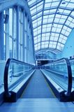 Moving escalator Royalty Free Stock Photography