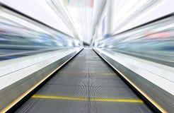 Moving escalator Royalty Free Stock Photo