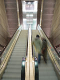 Moving escalators Royalty Free Stock Photography