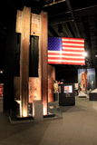 Moving exhibit covering the events of 9-11, Albany's State Museum,New York,2016. Emotional exhibit that describes the horrific events of 9-11, Albany's State Royalty Free Stock Photos