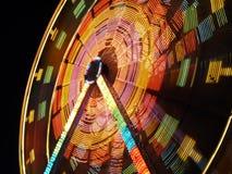 Moving Ferris Wheel Stock Photo