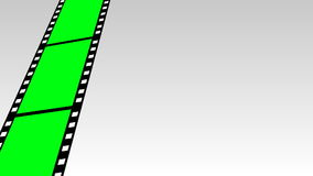 Moving Film Strip Stock Image
