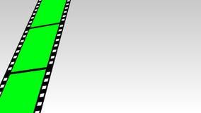 Moving Film Strip Stock Image