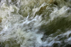 Moving floodwater Royalty Free Stock Photography