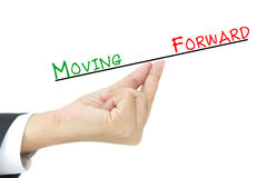 Moving forward concept Royalty Free Stock Photo