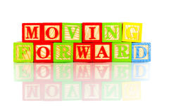 Moving forward Royalty Free Stock Photography