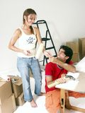 Moving and fun. Stock Image