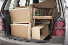 Moving furniture Royalty Free Stock Photography
