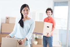 Moving In Stock Photography