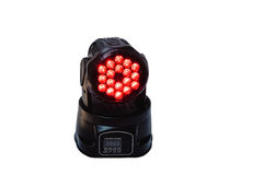 Moving Head Led Light Royalty Free Stock Photos