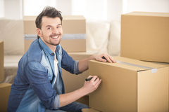 Moving home Royalty Free Stock Photography