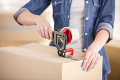 Moving home Stock Photography