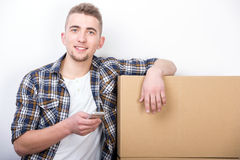 Moving home Royalty Free Stock Images