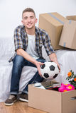 Moving home Royalty Free Stock Image