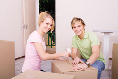 Moving House Stock Photo