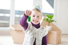 Moving house Royalty Free Stock Photos