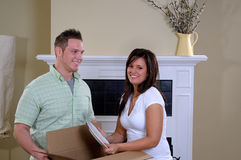Moving House Stock Photography