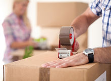 Free Moving House Royalty Free Stock Image - 34669976