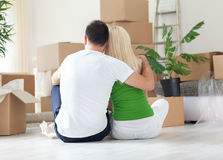 Moving House Royalty Free Stock Images