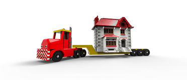 Moving House Royalty Free Stock Photography