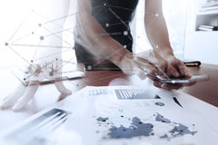Moving Image of Business creative designer working Stock Photos