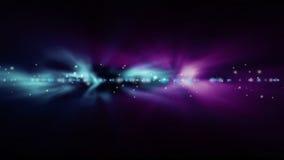 moving lampor på mörk bakgrund Royaltyfri Fotografi