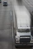 moving lastbil Arkivbild