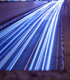 Moving lights Royalty Free Stock Images